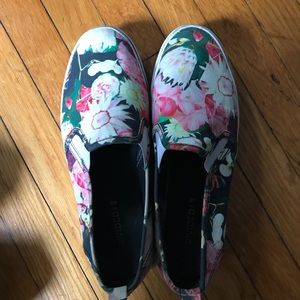 Floral Slide On's
